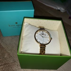 Kate Spade Mrs Gold Watch